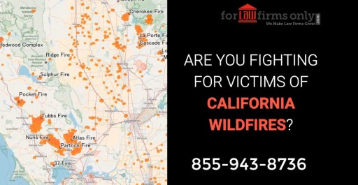 Lead Generation Program for Attorneys to Locate Victims of California Wildfire